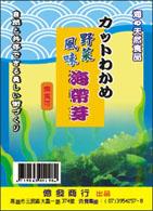 海帶芽包裝貼紙